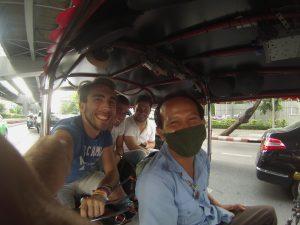 Tuk Tuk in Thailandia, Bangkok