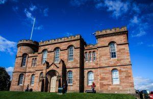 Il castello di Inverness, quella che si può definire la capitale delle Highlands