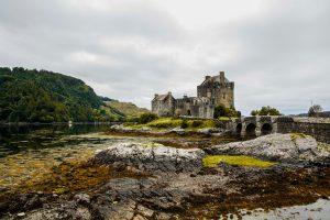Uno dei castelli più fotografati dell'intera Scozia, l'Eilean Donan Castle