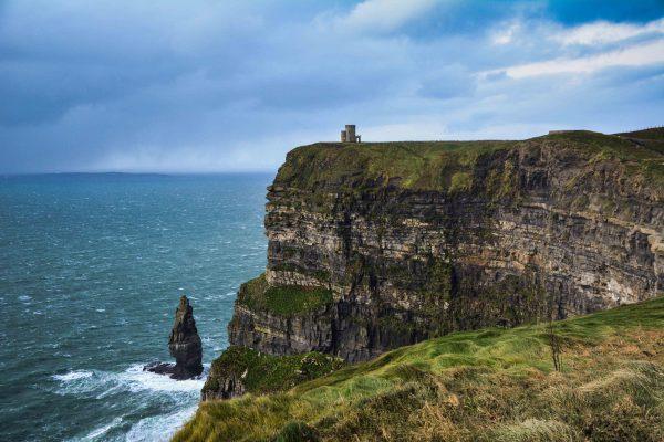 La vista delle scogliere di Moher in Irlanda