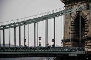 Il Ponte delle Catene, uno dei simboli della città di Budapest