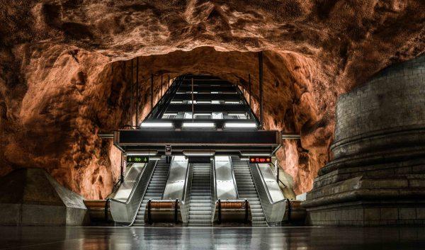 La metropolitana di Stoccolma è una galleria d'arte
