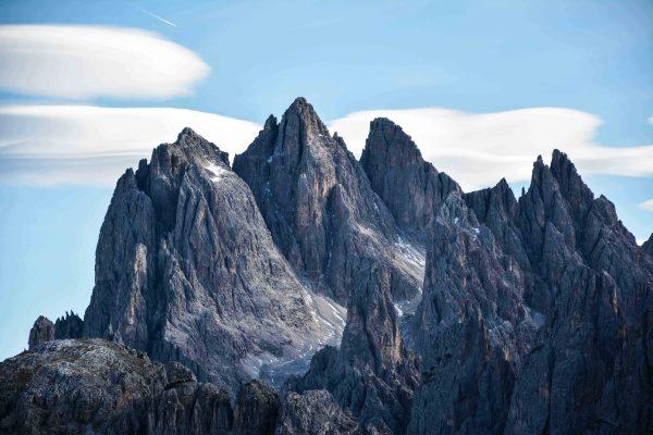 Le cime delle Dolomiti, un paradiso per gli amanti della montagna