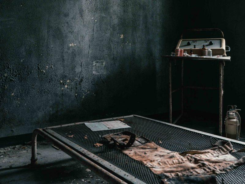 Urbex Piemonte Manicomio Abbandonato. Camicia di forza