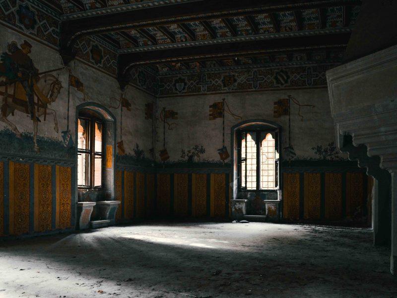 Urbex Piemonte: il caratteristico Castello abbandonato di R.