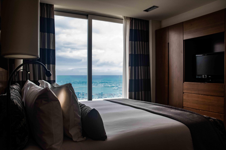 L'Hotel Dan Carmel Haifa con il suo panorama mozzafiato