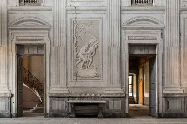 la Villa C. abbandonata dichiarata Monumento Nazionale