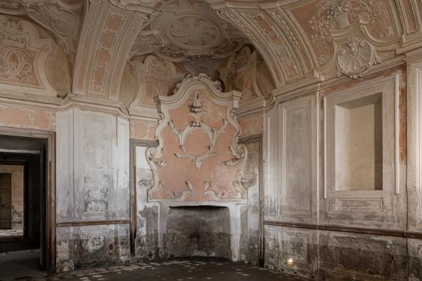 Piemonte, Villa C. abbandonata