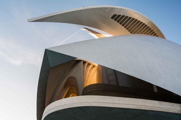 La Ciudad de las Artes y las Ciencias di Valencia