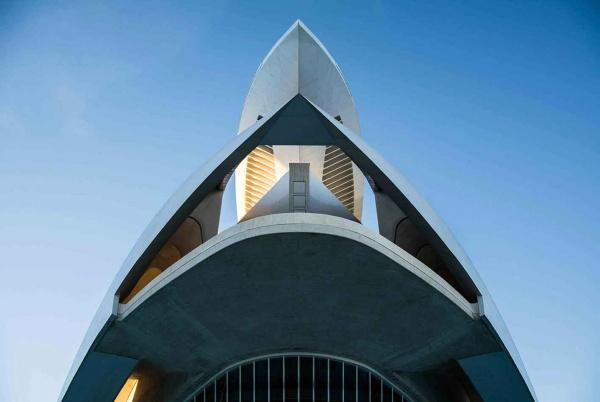 La Ciudad de las Artes y las Ciencias di Santiago Calatrava