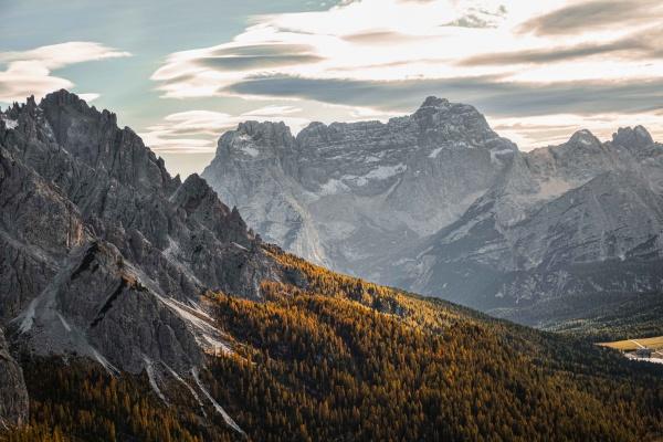 Le bellissime vette delle Dolomiti in Trentino Alto Adige. Landscape
