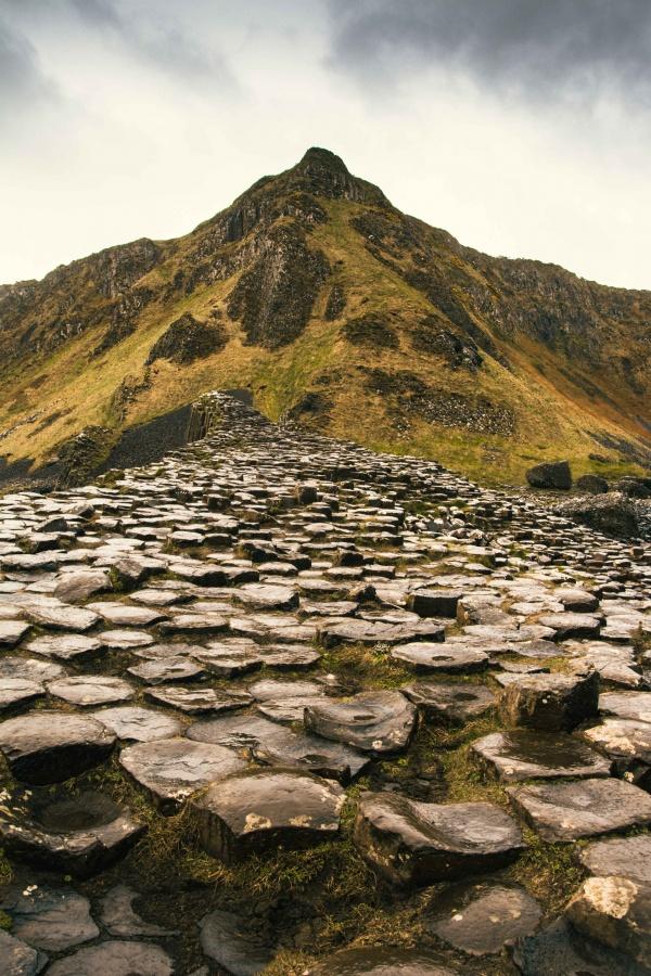 Le Giant's Causeway in Irlanda, il sentiero del gigante