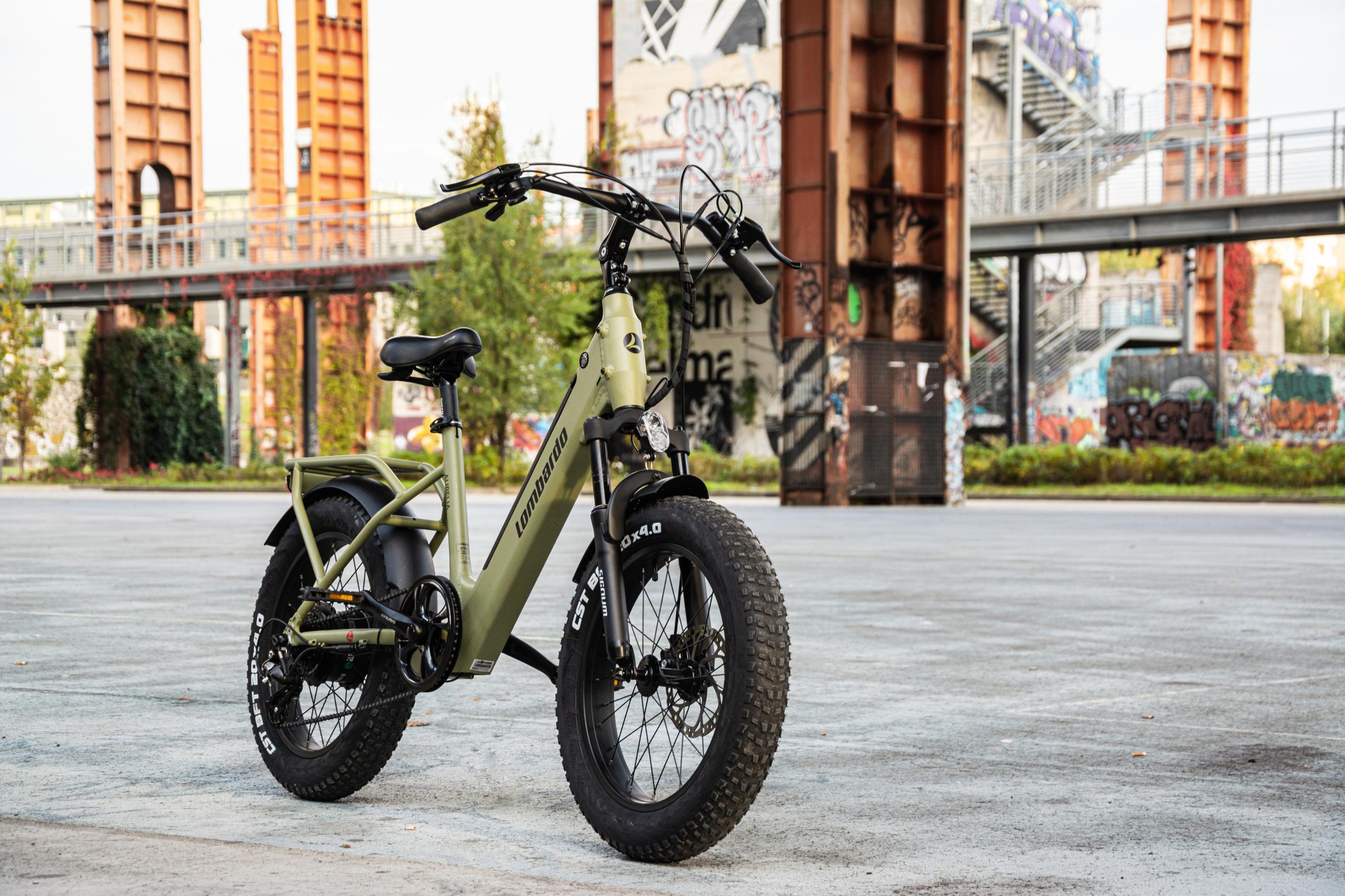 Lombardo Aurelia: tutti in sella sulla nuovissima E-bike 100% italiana